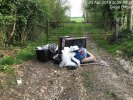 Fly tip in gateway